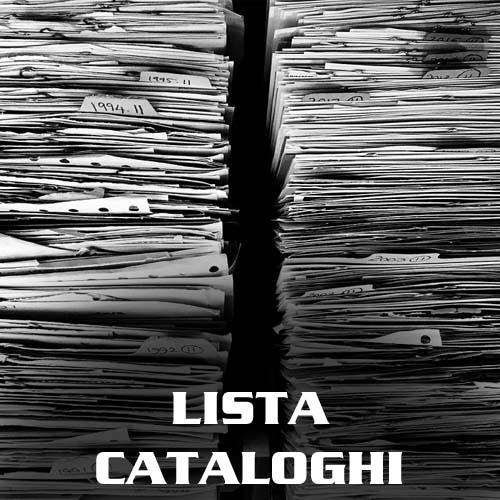 LISTA CATALOGHI